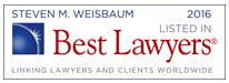 Best Lawyer 2016 Maryland Family Law Attorney Steven M. Weisbaum